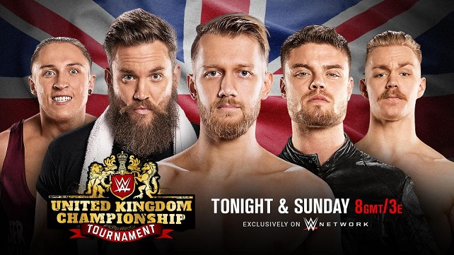 WWE United Kingdom Championship Tournament 2 день ...