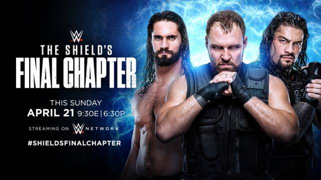 WWE The Shield's Final Chapter (английская ве...