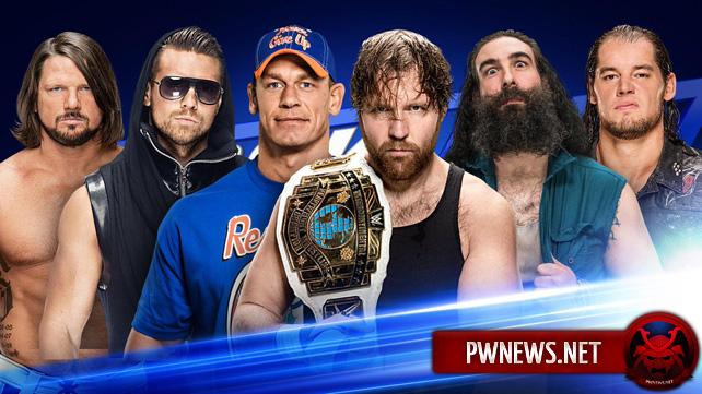 WWE SmackDown Live 21.02.2017 (русская версия от 5...
