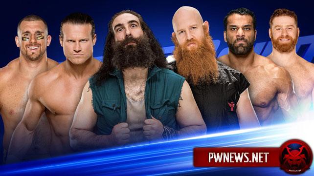 WWE SmackDown Live 18.04.17 (русская версия от 545...