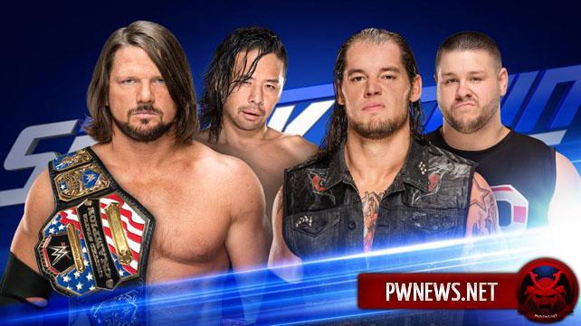 WWE SmackDown Live 18.07.17 (русская версия от 545...