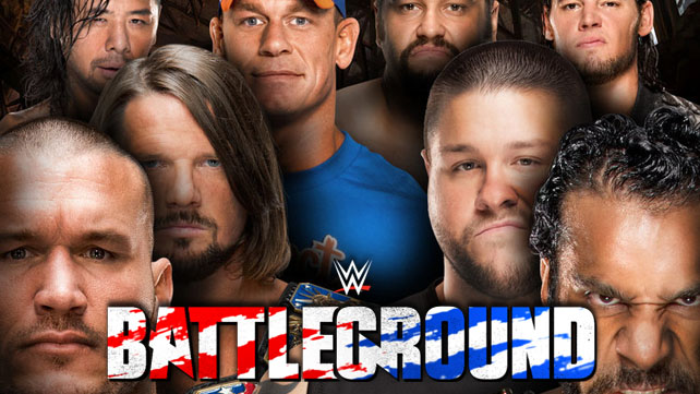 WWE Battleground 2017 (русская версия от 545TV)
