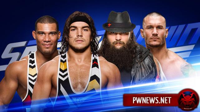 WWE SmackDown Live 29.11.2016 (русская версия от 5...