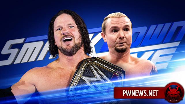 WWE SmackDown Live 18.10.2016 (русская версия от 5...