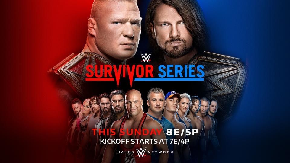 WWE Survivor Series 2017 (русская версия от 545TV)