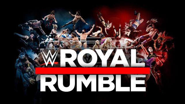 WWE Royal Rumble 2019 (русская версия от 545T...