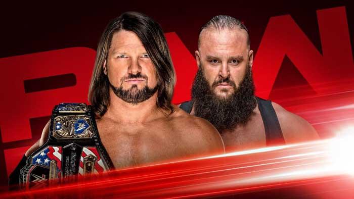 WWE Monday Night Raw 19.08.2019 (русская верс...