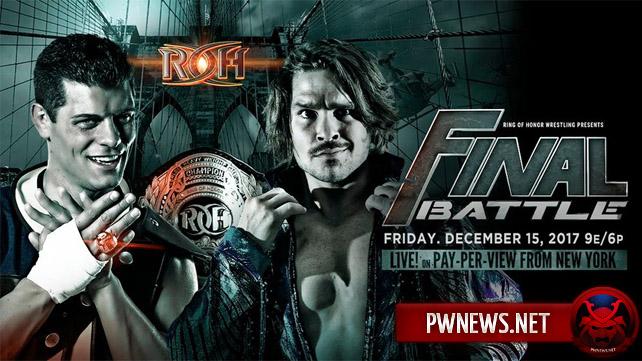 ROH Final Battle 2017 (английская версия)