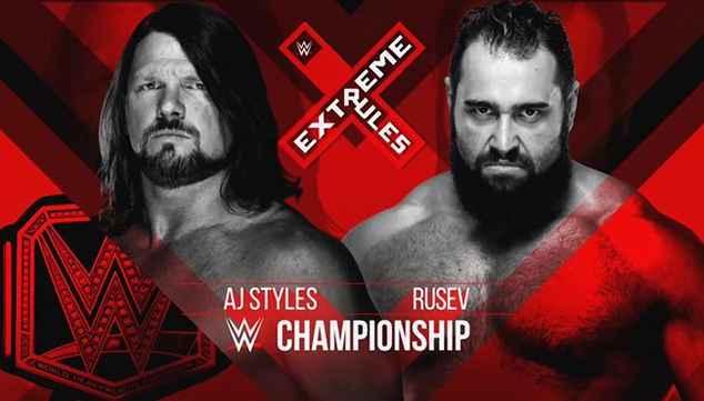 Какой матч будет в мэйн-ивенте Extreme Rules 2018?