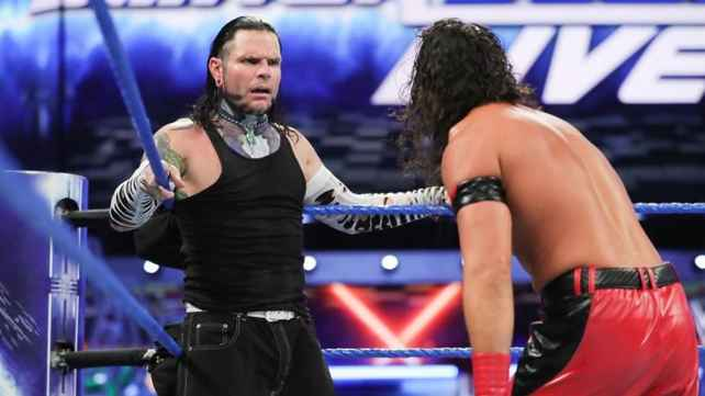 WWE подтвердили матч Шинске Накамуры и Джеффа Харди на SmackDown