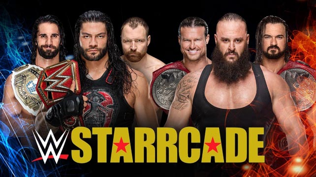Возможный признак показа Starrcade 2018 по WWE Network