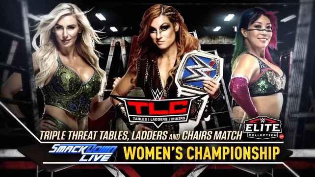 Возможная причина для трехстороннего женского матча на TLC