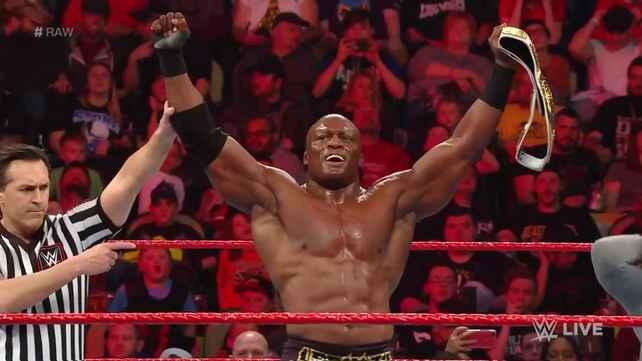 WWE заранее проспойрелили выигрыш Бобби Лэшли титула интерконтинентального чемпиона на Raw