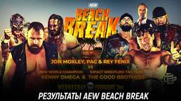 Результаты AEW Beach Break 2021