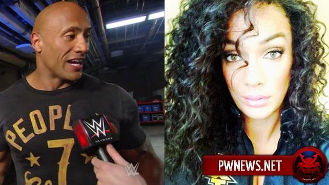 Новости о кузине Рока на NXT