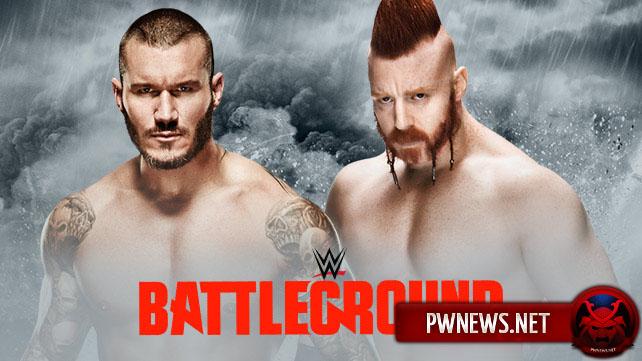 Randy Orton vs. Sheamus - BattleGround 2015