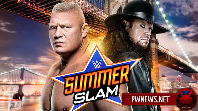 Brock Lesnar vs. The Undertaker - Summer Slam