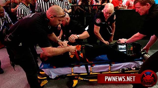 Джейми Ноубл травмировался на RAW