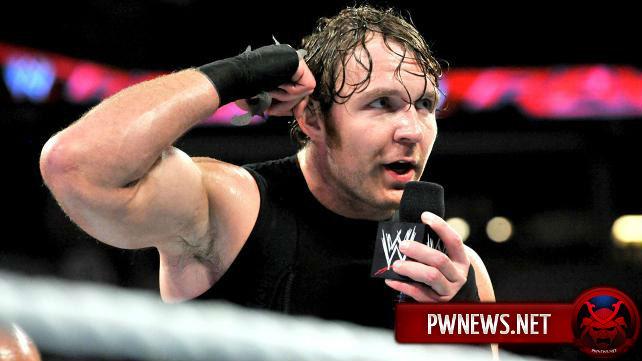 WWE недовольно работой Дина Эмброуза