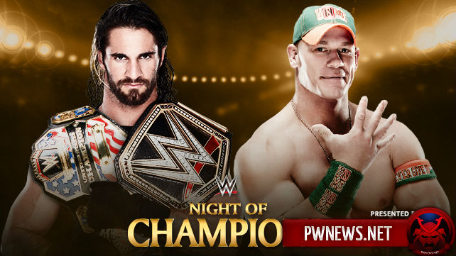 Seth Rollins vs. John Cena