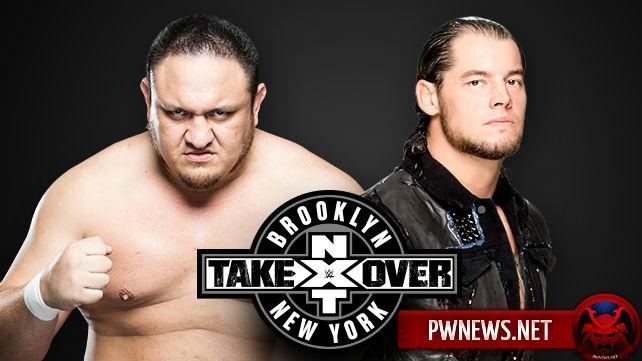 Samoa Joe vs. Baron Corbin