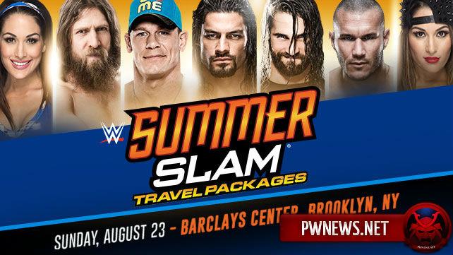 Джон Сина против Сета Роллинса на SummerSlam