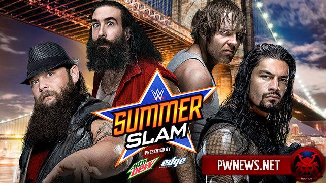 Bray Wyatt & Luke Harper vs. Ambrose & Reigns