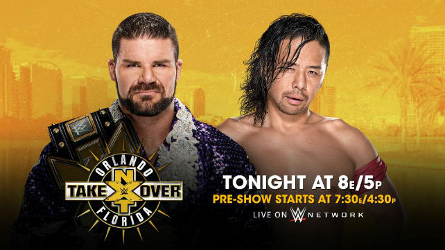 Результаты NXT TakeOver: Orlando