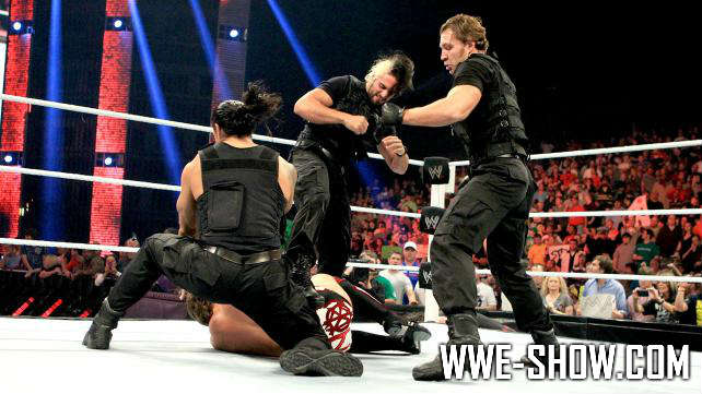 Ryback & Team Hell No vs. The Shield