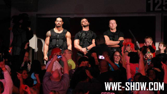 The Shield и TLC 2012