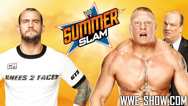 CM Punk vs. Brock Lesnar на SS 2013