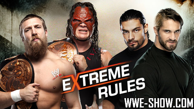 Team Hell No vs. The Shield на Extreme Rules