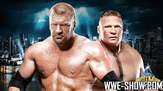 Triple H vs. Brock Lesnar Wrestlemania 29
