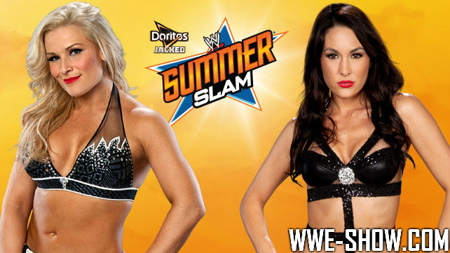 Natalya vs. Brie Bella на SummerSlam 2013
