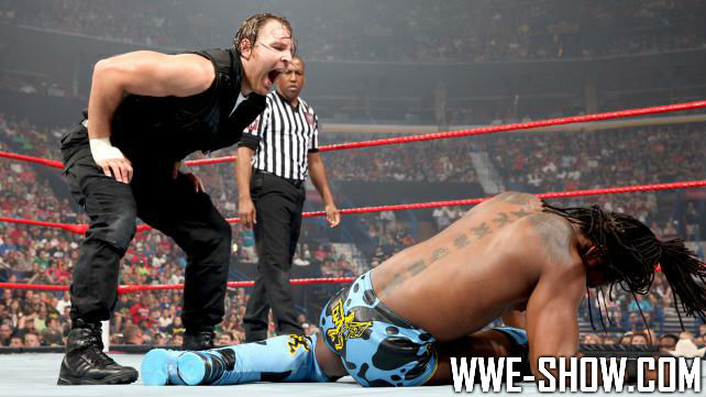 Dean Ambrose vs. Kofi Kingston на SD!