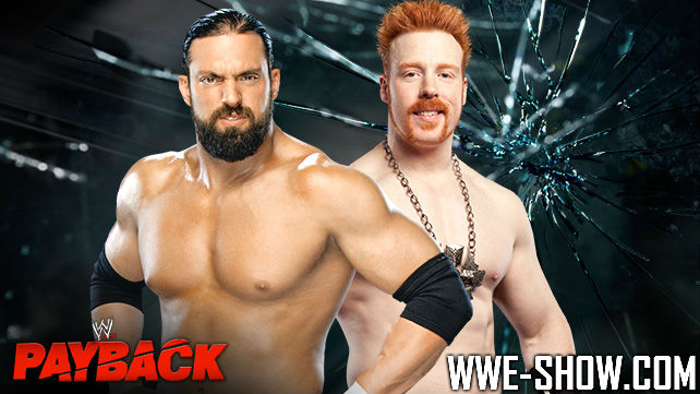 Damien Sandow vs. Sheamus на Pre-Show