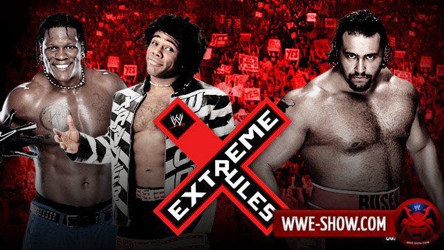 R-Truth & Xavier Woods vs. Alexander Rusev