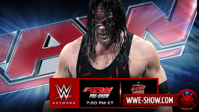 Превью к WWE Monday Night RAW 28.04.14