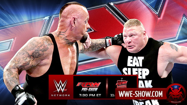 Превью к WWE Monday Night RAW 31.03.14