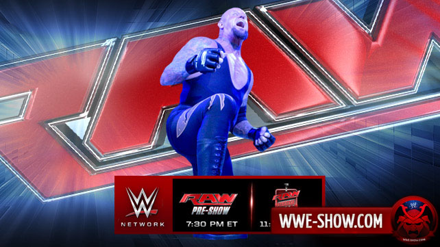 Превью к WWE Monday Night RAW 24.03.14