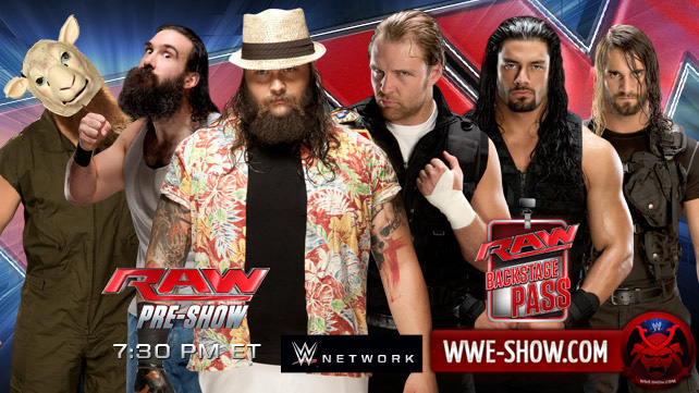 Превью к WWE Monday Night RAW 03.03.14