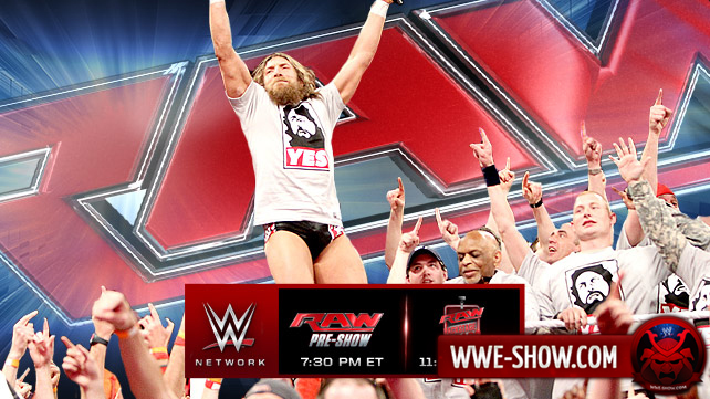 Превью к WWE Monday Night RAW 17.03.14