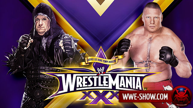 The Undertaker vs. Brock Lesnar