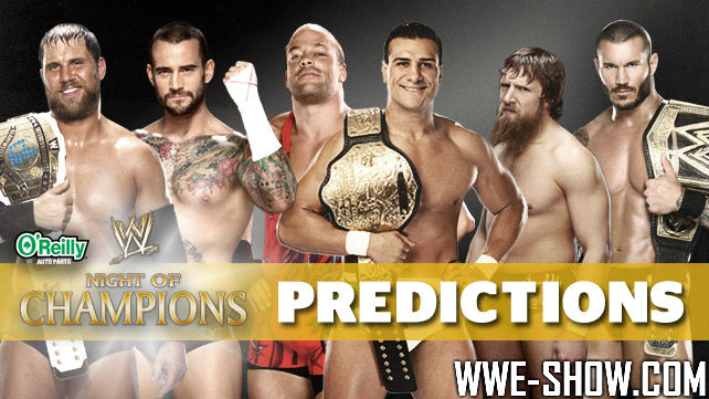 Результаты WWE Night of Champions 2013