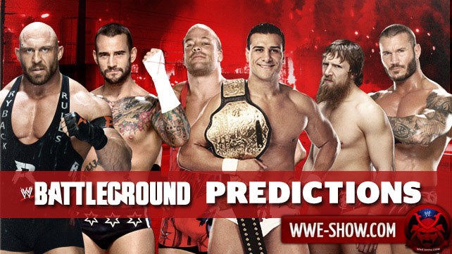 Результаты WWE Battleground 2013