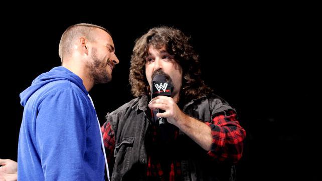 an analysis of wrestling through mick foley