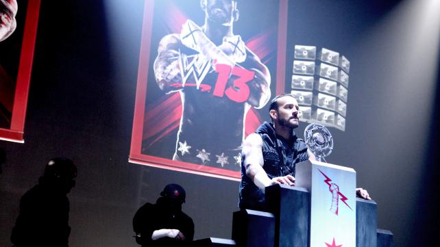 CM Punk and WWE 13