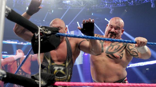 Ryback vs. Tensai