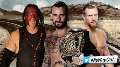 CM Punk vs. Daniel Bryan vs. Kane – WWE Championship Triple Threat Match