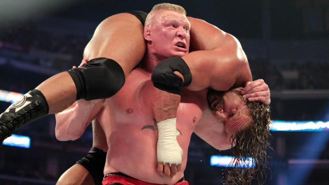 Brock Lesnar vs. Triple H